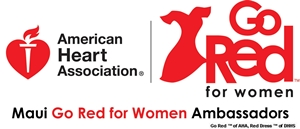 Maui Go Red for Women Ambassadors Logo