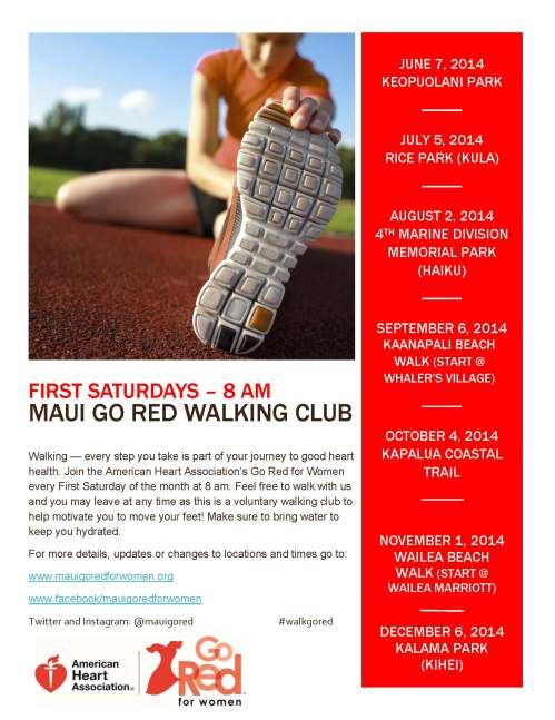 Maui GRFW Walking Club Promo Image