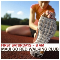 go red walking club promo image